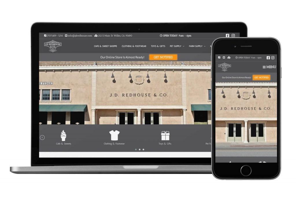 Mendo Web Design mobile responsive business website